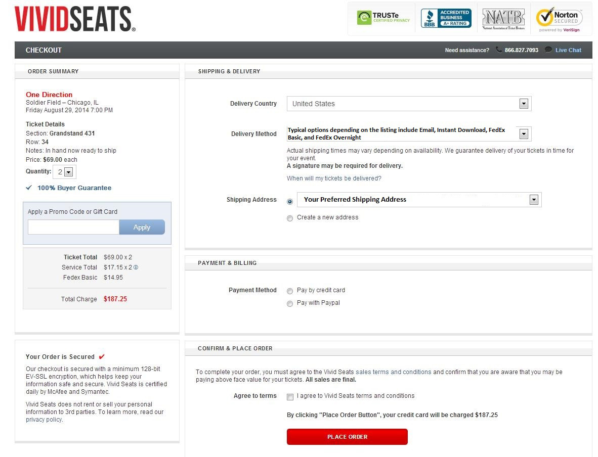 Vivid seats discount coupon