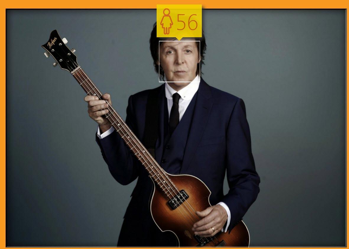 The Beatles Polska: Zdaniem Microsoftu Paul McCartney wygląda na 56 lat!