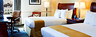 DoubleTree New Orleans room with two double beds